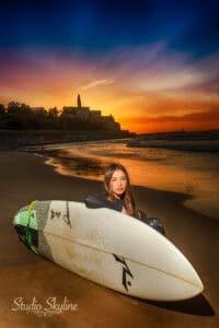 בוק בת מצווה בחוף הים