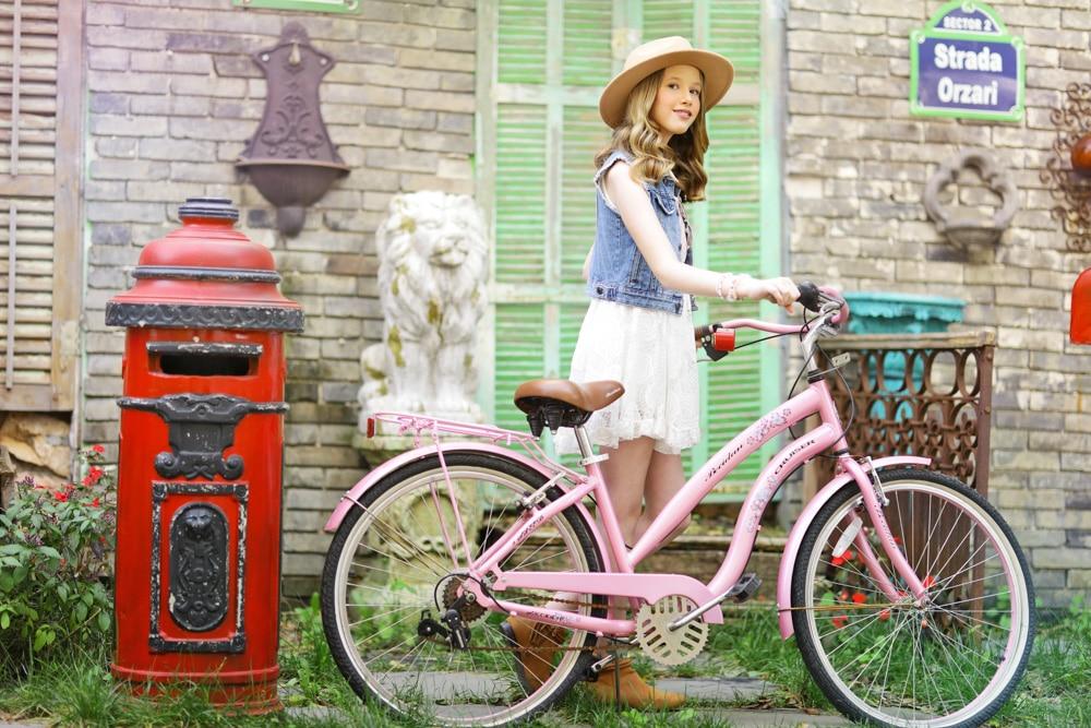 בוק לבת מצווה צילומי טבע עם אופניים